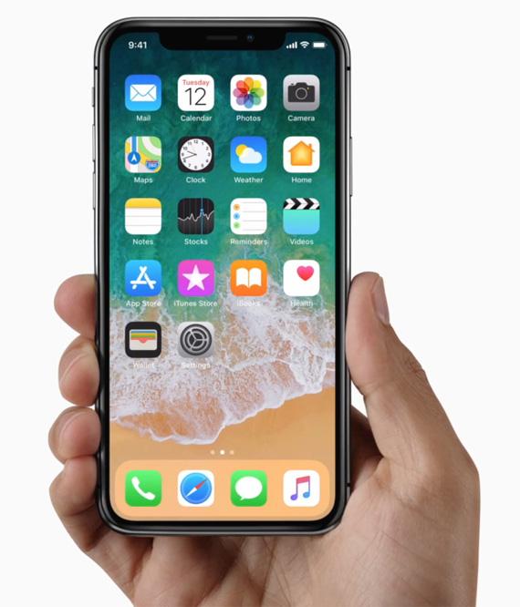 iPhone X hands