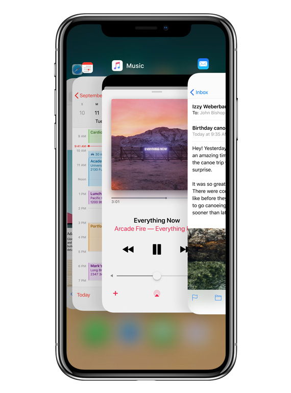 iPhone-X-multi-task