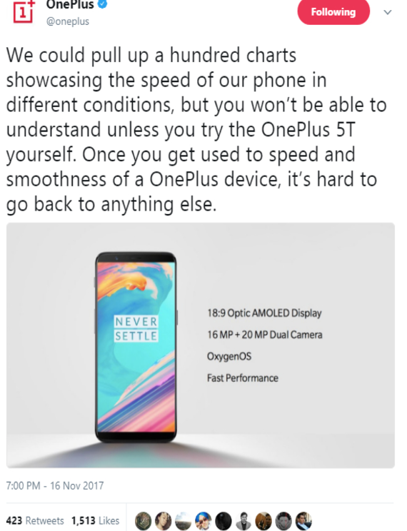 oneplus-5t-claims-fastest-phone