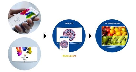 samsung seecolors app 1