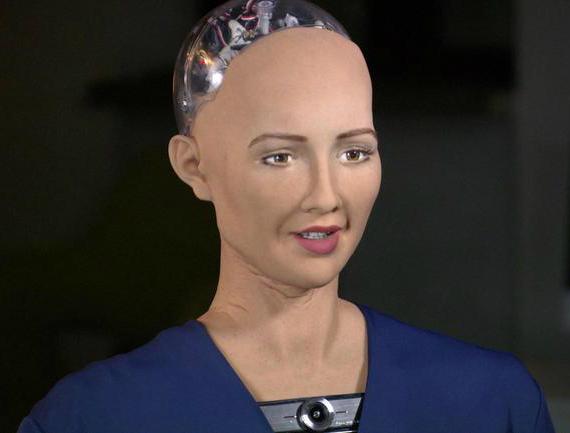 H Σοφία είναι το πρώτο ρομπότ με ιθαγένεια