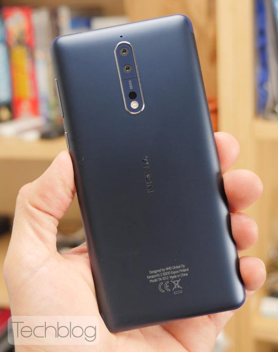 Nokia 8 hands-on Techblog