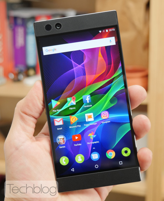 Razer Phone hands on TechblogGR 1