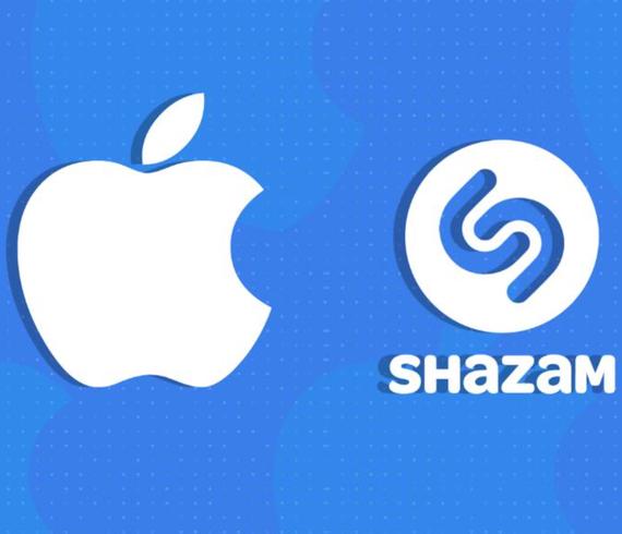 apple shazam logos