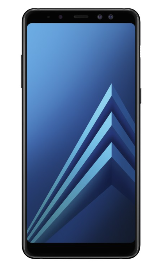 galaxy a8 a8+ (2018) front