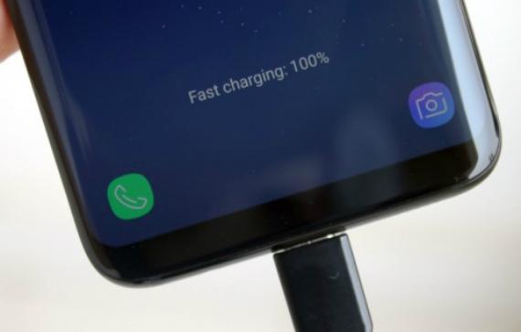 galaxy s8 fast charging