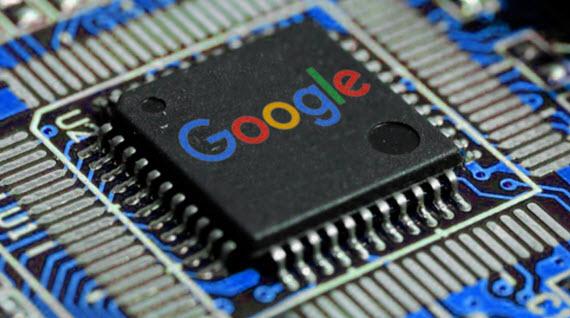 google chip illustration