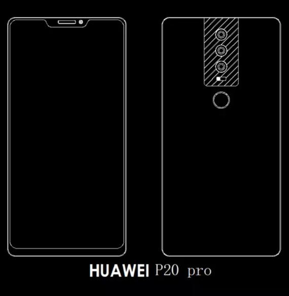 huawei p20 pro leak
