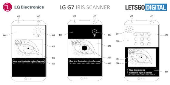 lg g7 possible iris scanner 2