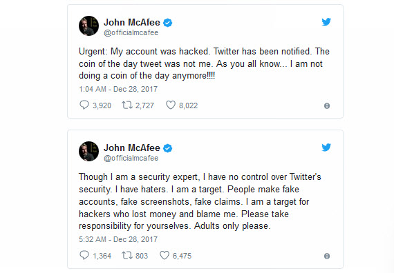 mcafee twitter