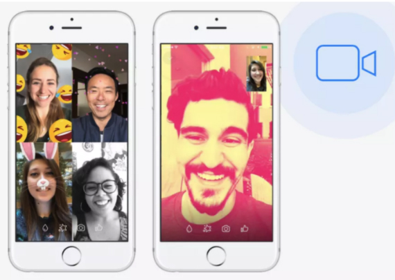 messenger video chats
