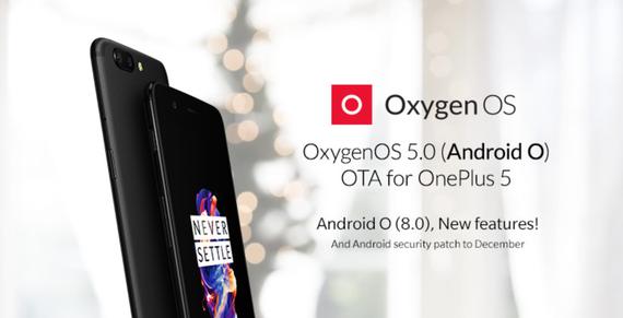 oneplus 5 oxygenos 5 android oreo