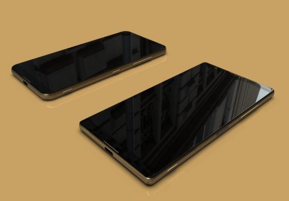 possible bezel-less xperia smartphones 4
