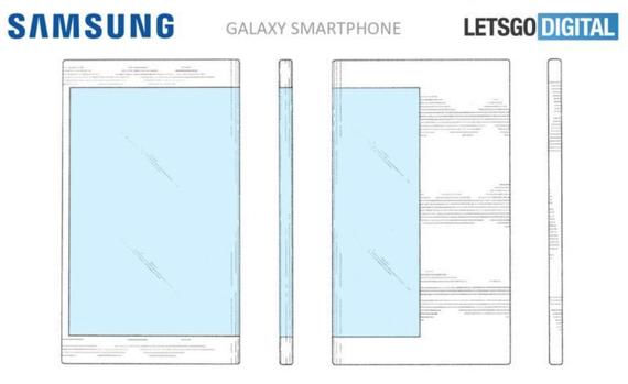possible folded display samsung galaxy 1