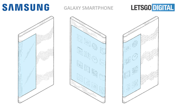possible folded display samsung galaxy 2