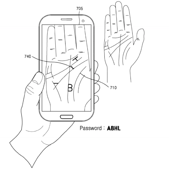 samsung palm scanning 2