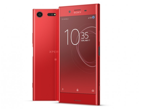 xperia xz premium red color