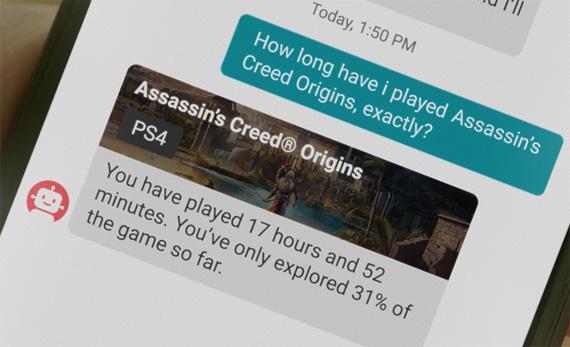 Ubisoft Sam app personal assistant gaming