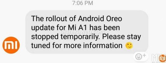 android oreo mi a1