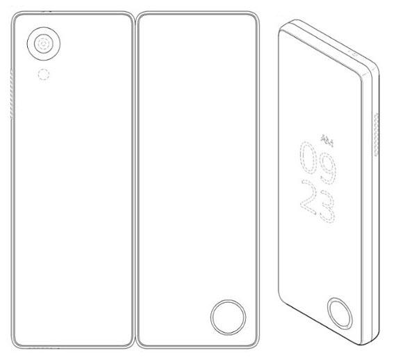 lg foldable phone patent 2
