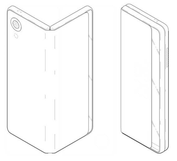 lg foldable phone patent 3
