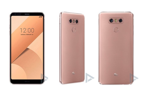 lg g6 raspberry rose color
