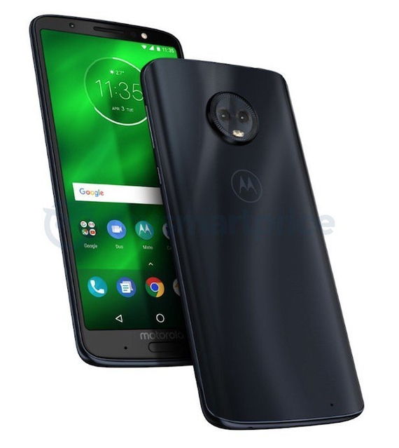 motorola moto g6 plus new render