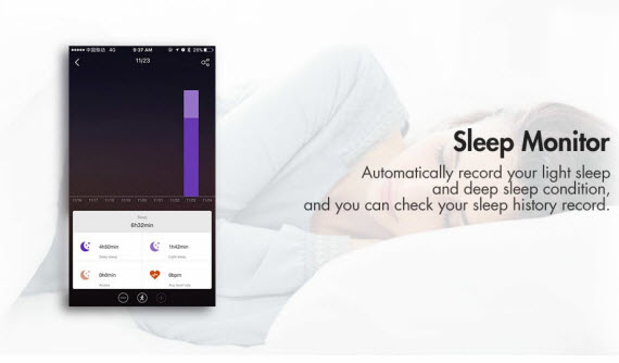 mpow d6 sleep monitor