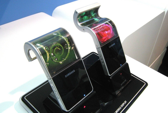 samsung flexible screen for smartphones