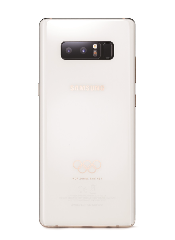 samsung galaxy note 8 winter olympics 2018 limited edition 2