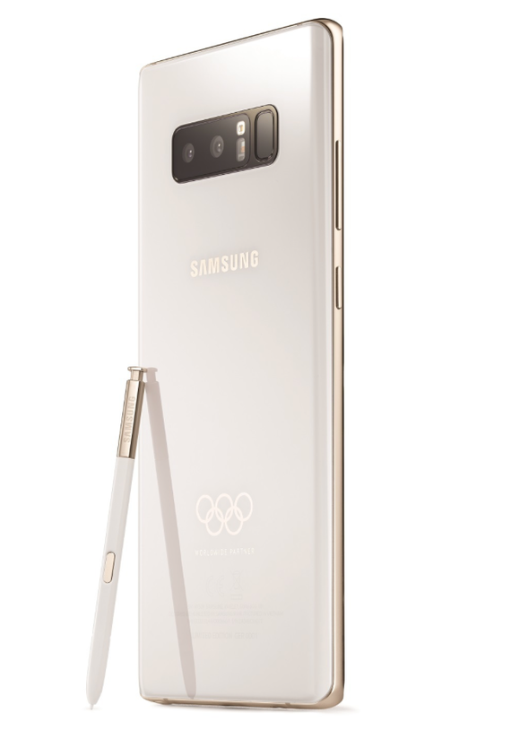 samsung galaxy note 8 winter olympics 2018 limited edition 3