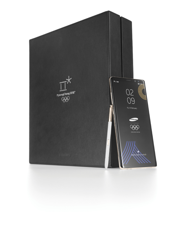 samsung galaxy note 8 winter olympics 2018 limited edition 4