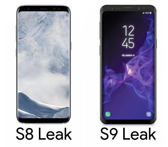 samsung galaxy s8 s9 leak