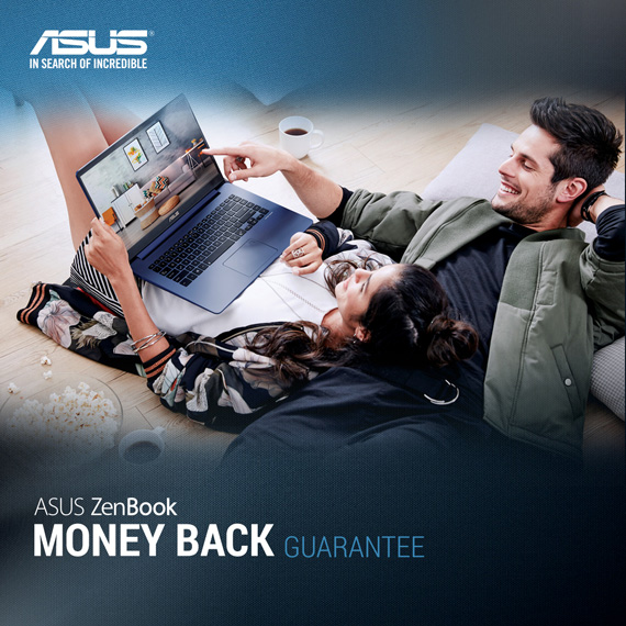 ASUS ZenBook Money back