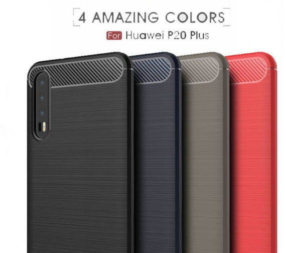 Huawei p20 plus case renders 1