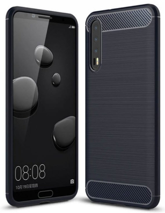 Huawei p20 plus case renders 4