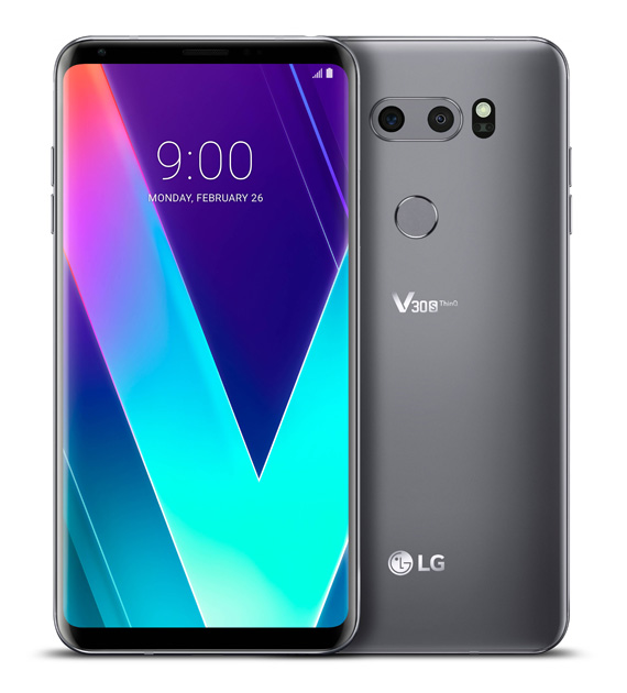 LG V30S ThinQ New Platinum Gray 02