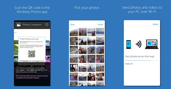 Microsoft Photos Companion App iOS Android