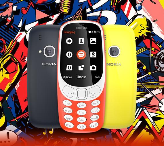 Nokia 3310 2017 plaisio