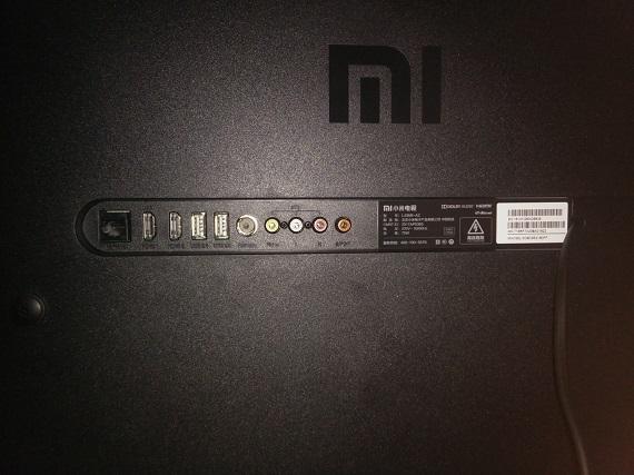 Xiaomi Mi TV 4A back panel