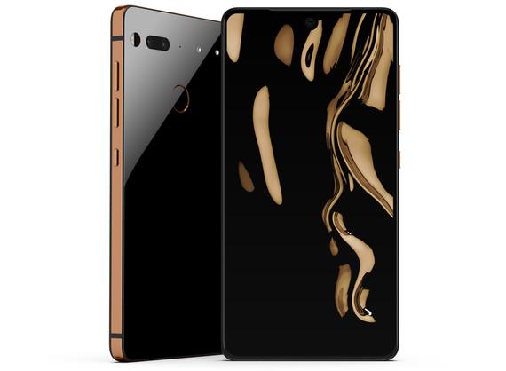 essential phone copper black color