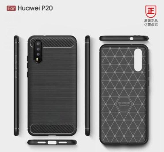 huawei p20 cases renders 2