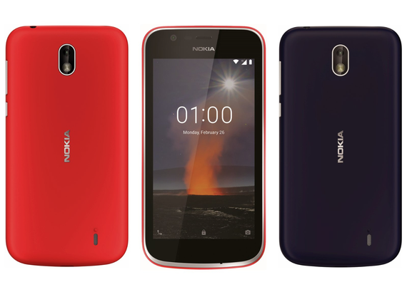 nokia 1 official render leaked