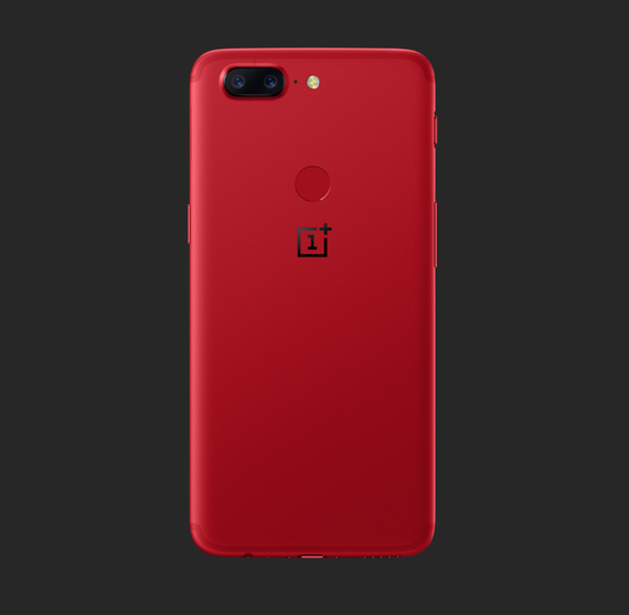 oneplus 5t lava red edition 3