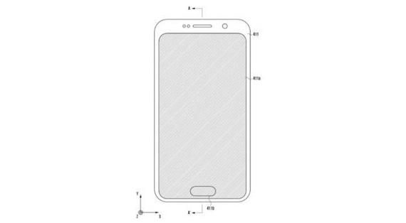 samsung galaxy note 9 in screen fingerprint scanner patent
