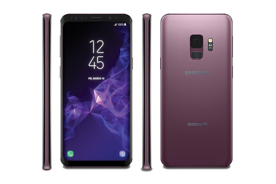 samsung galaxy s9 and s9 plus leak render lilac color 1