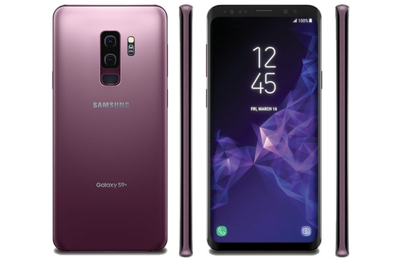 samsung galaxy s9 and s9 plus leak render lilac color 2