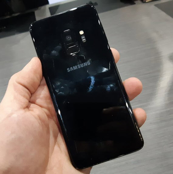 samsung galaxy s9 official rear