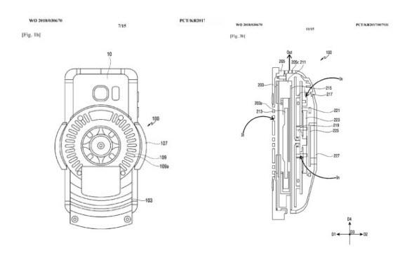samsung patent car dock 3