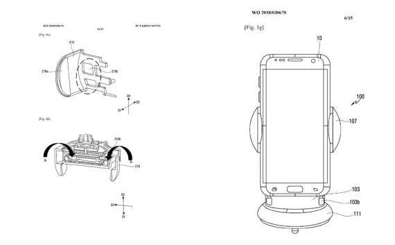 samsung patent car dock 8